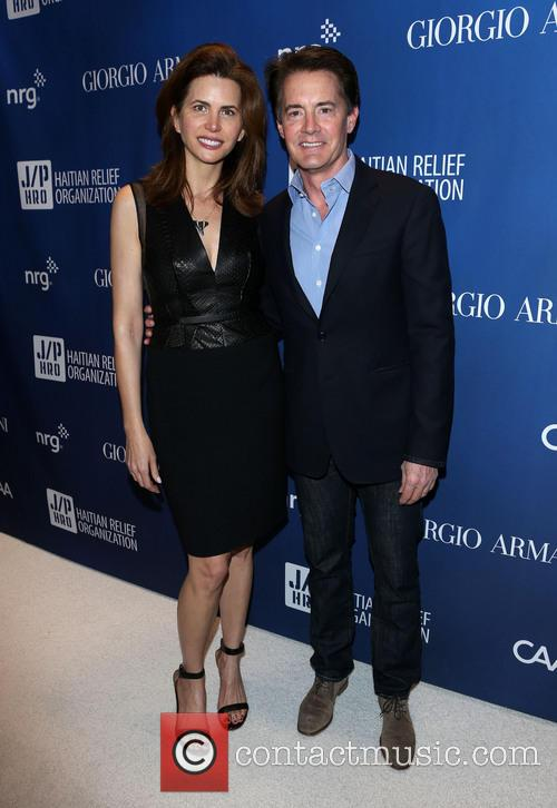 Desiree Gruber and Kyle Maclachlan 2