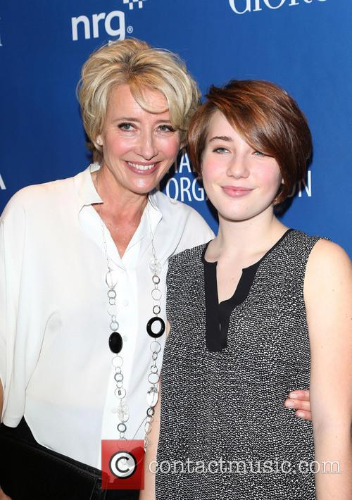 Emma Thompson and Gaia Wise 1