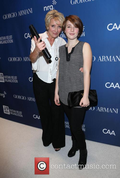 Emma Thompson and Gaia Wise 9