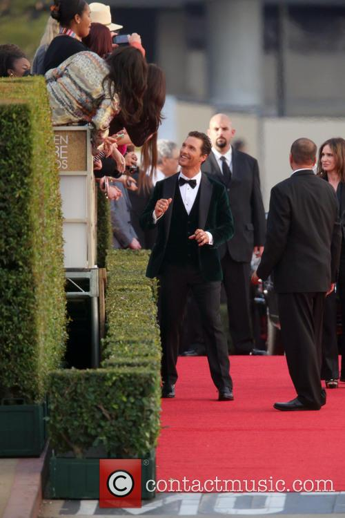 Matthew McConaughey, Beverly Hills, Golden Globe Awards, Beverly Hilton Hotel