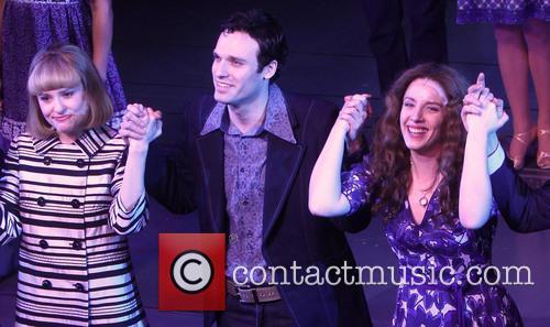 Anika Larsen, Jake Epstein and Jessie Mueller 6