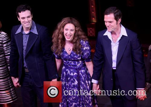 Jake Epstein, Jessie Mueller and Jeb Brown 5