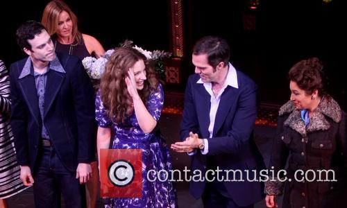 Jake Epstein, Sherry Goffin Kondor, Jessie Mueller, Jeb Brown and Liz Larsen 3