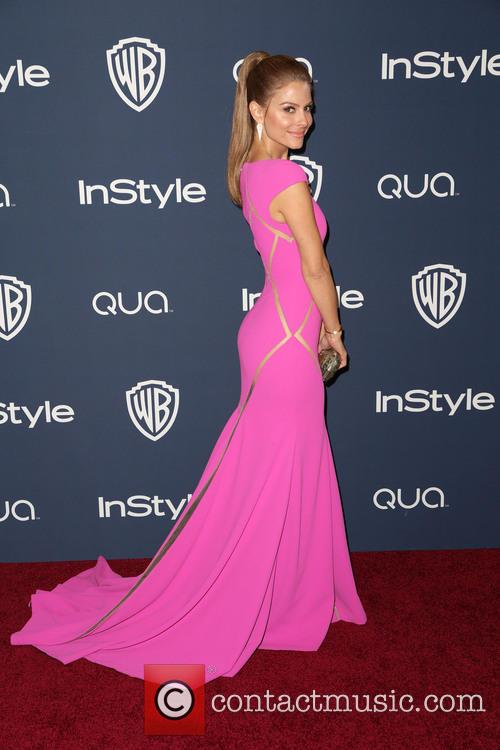 Maria Menounos, Oasis Courtyard at the Beverly Hilton Hotel, Golden Globe Awards, Beverly Hilton Hotel