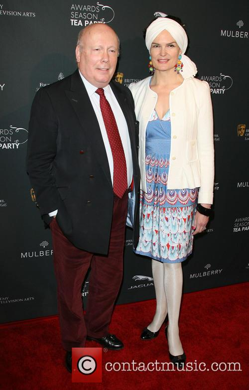 Julian Fellowes and Emma Fellowes 2