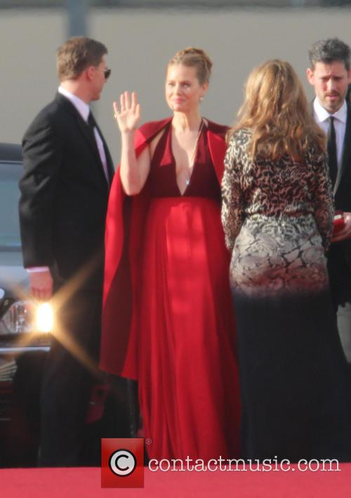 Amy Adams, Beverly Hills, Golden Globe Awards, Beverly Hilton Hotel