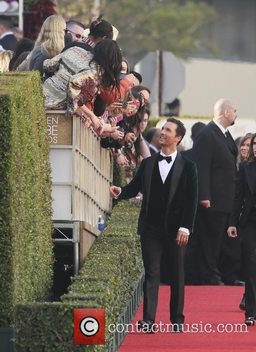 Mathew McConaughey, Golden Globe Awards, Beverly Hilton Hotel
