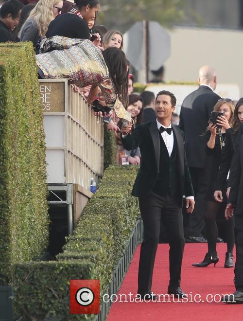 Mathew McConaughey, Golden Globe Awards, Beverly Hilton Hotel