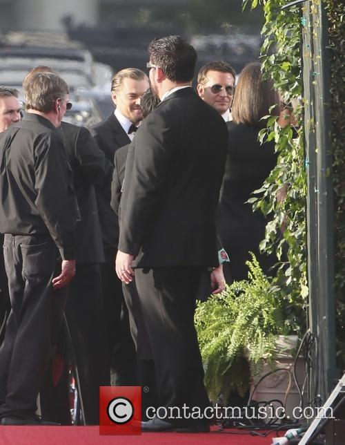 Leonardo Dicaprio and Bradley Cooper 9