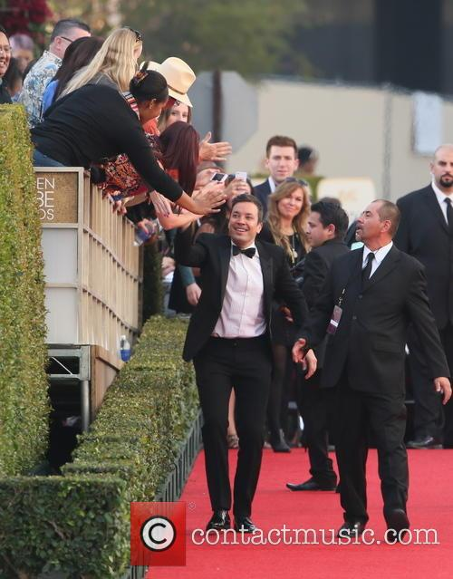 Jimmy Fallon, Golden Globe Awards, Beverly Hilton Hotel