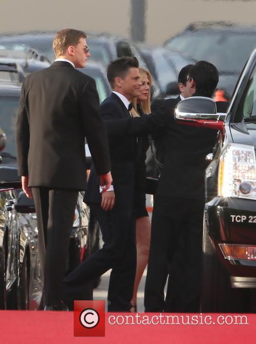 Rob Lowe, Golden Globe Awards, Beverly Hilton Hotel