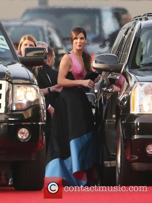 Sandra Bullock, Golden Globe Awards, Beverly Hilton Hotel