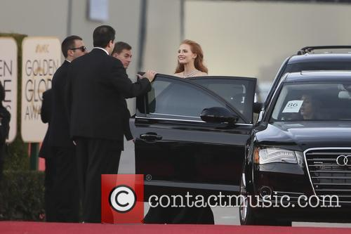 jessica chastain 71st annual golden globe awards 4021209