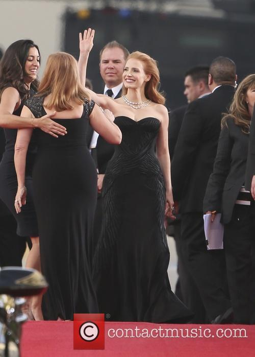 Jessica Chastain, Golden Globe Awards, Beverly Hilton Hotel
