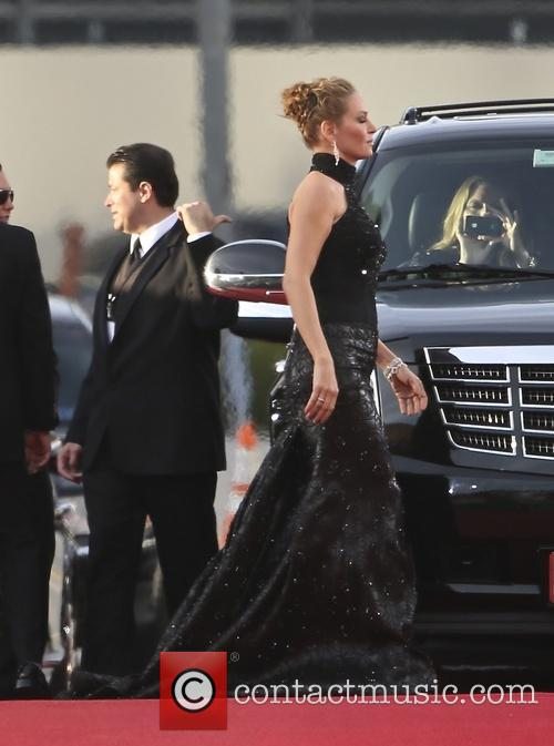 Uma Thurman, Golden Globe Awards, Beverly Hilton Hotel