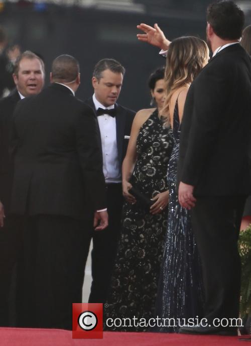 Matt Damon and Luciana Barroso 5