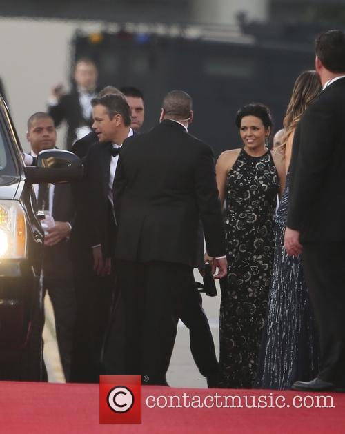 Matt Damon and Luciana Barroso 6