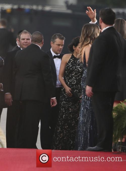 Matt Damon and Luciana Barroso 7