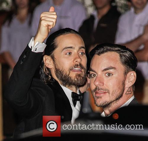 Jared Leto and Shannon Leto