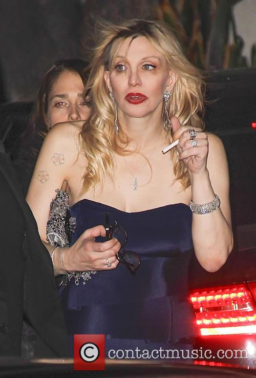 Courtney Love, Golden Globes Awards After Party