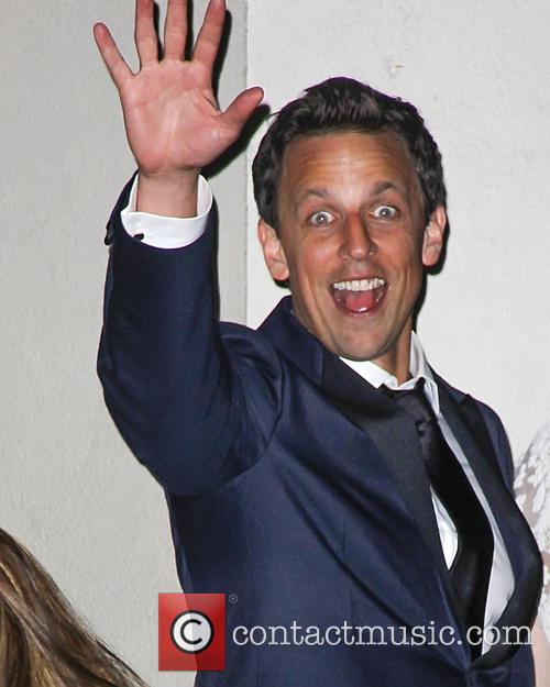Seth Meyers, Golden Globes After Party