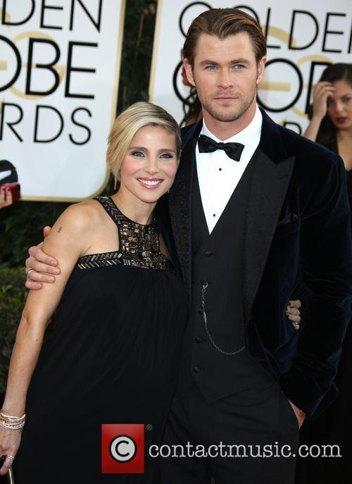 Elsa Pataky Chris Hemsworth Golden Globes