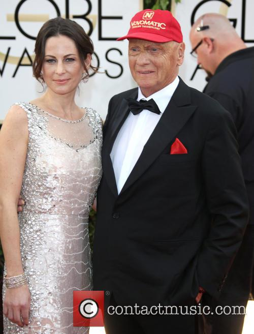 Niki Lauda and Wife Birgit Wetzinger 3