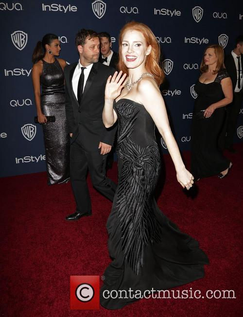 jessica chastain 15th annual warner bros and 4022575