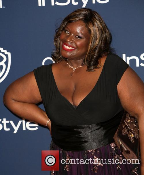 Retta Sirleaf, Oasis Courtyard at the Beverly Hilton Hotel, Golden Globe Awards, Beverly Hilton Hotel
