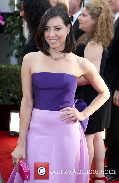 Aubrey Plaza, Golden Globe Awards, Beverly Hilton Hotel