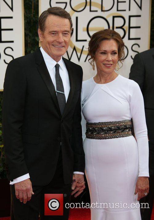 Bryan Cranston, Robin Dearden, Golden Globe Awards, Beverly Hilton Hotel