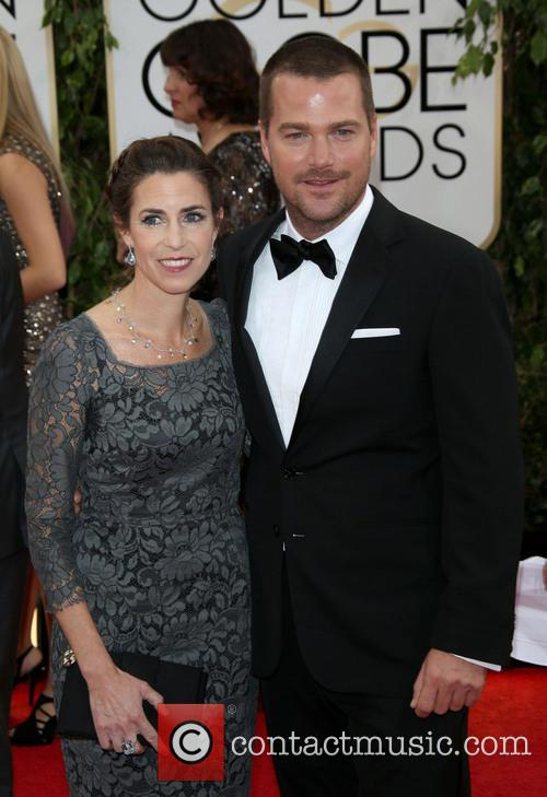 Chris O'donnell and Caroline Fentress 2