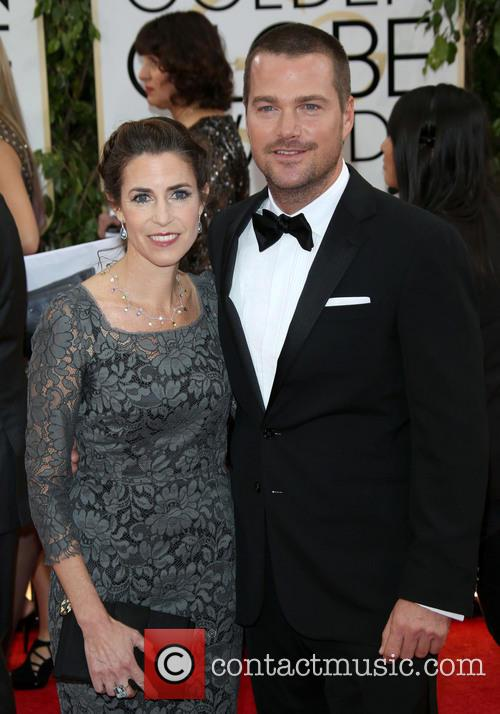 Chris O'donnell and Caroline Fentress 3