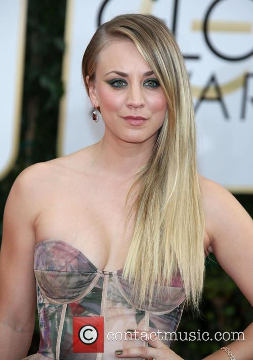 Kaley Cuoco, Golden Globe Awards, Beverly Hilton Hotel