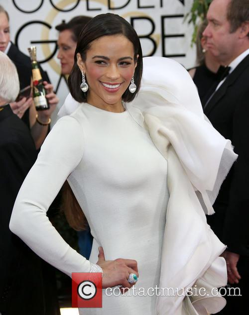 Paula Patton at Golden Globe Awards