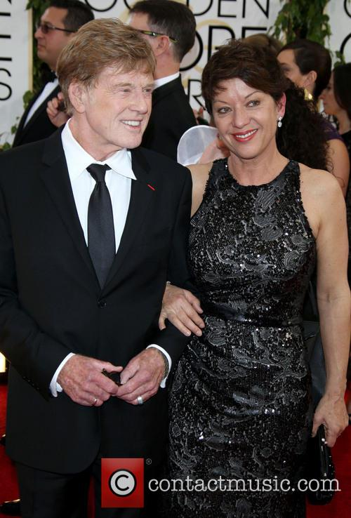 Robert Redford and Wife Sibylle Szaggars 6