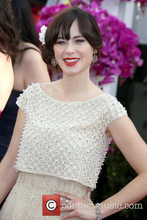 Zooey Deschanel, Golden Globe Awards, Beverly Hilton Hotel