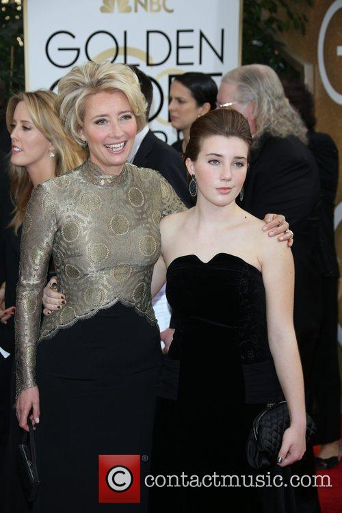 Emma Thompson and Daughter Gaia Romilly Wise 8