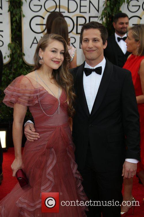 Andy Samberg and wife Joanna Newsom