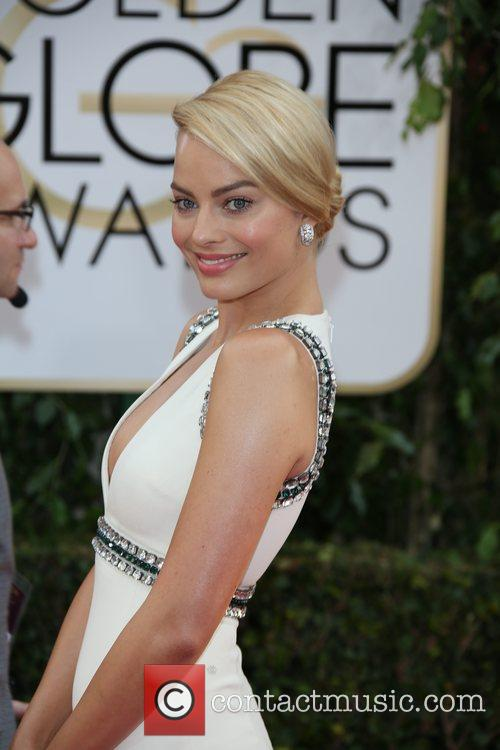 Margot Robbie, Golden Globe Awards, Beverly Hilton Hotel