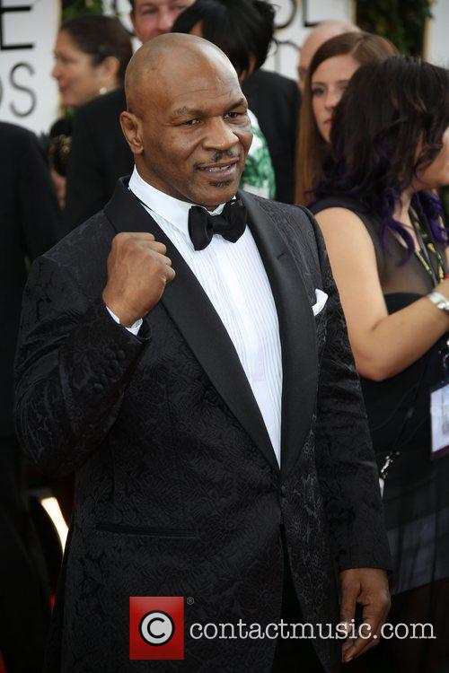 Mike Tyson, Golden Globe Awards, Beverly Hilton Hotel