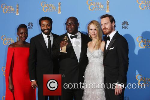 Actors Lupita Nyong'o, Chiwetel Ejiofor and Director Steve Mcque 2