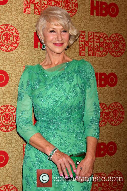 Helen Mirren, Beverly Hilton Hotel, Golden Globe Awards