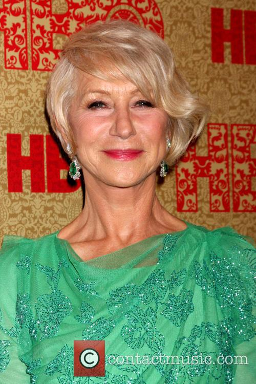 Helen Mirren, Beverly Hilton Hotel, Golden Globe Awards