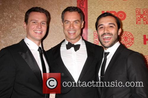 Jonathan Groff, Murray Bartlett and Frankie J Alvarez 3