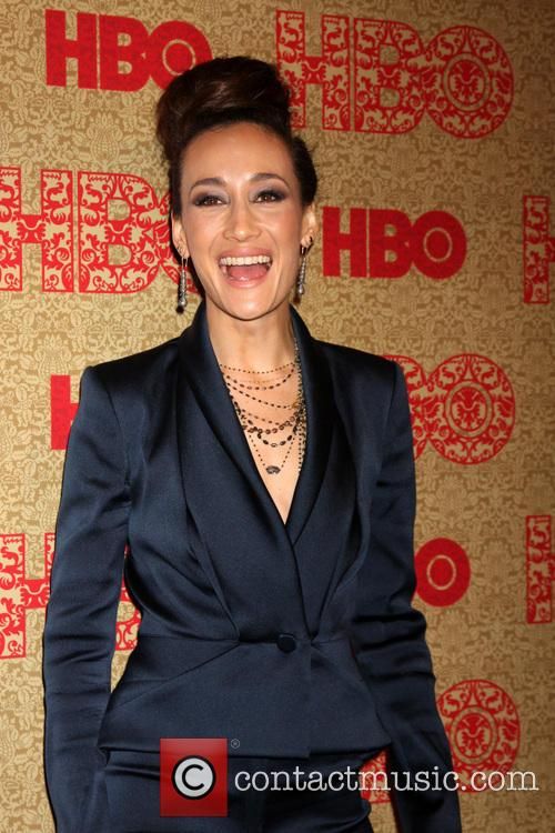 Maggie Q, Beverly Hilton Hotel, Golden Globe Awards