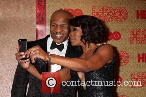 Mike Tyson and Angela Bassett 3