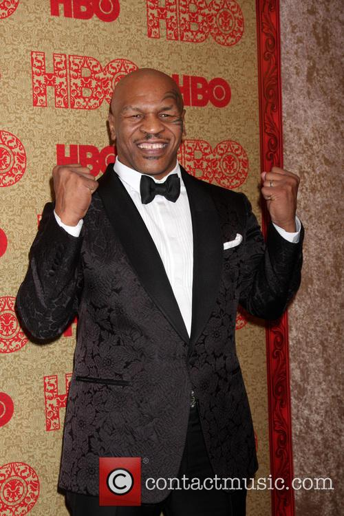 Mike Tyson, Beverly Hilton Hotel, Golden Globe Awards