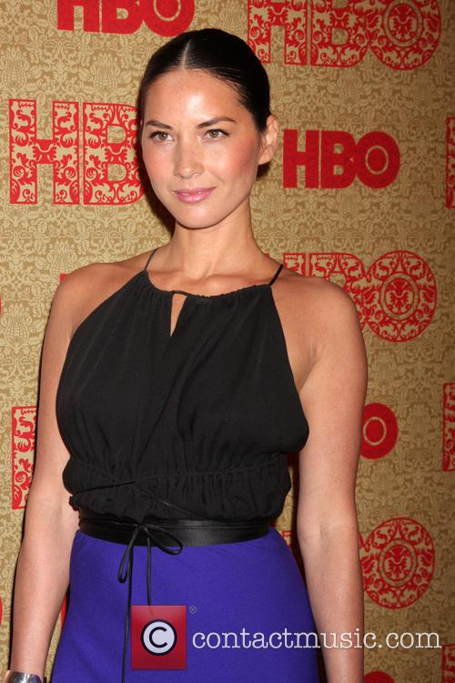 Olivia Munn, Beverly Hilton Hotel, Golden Globe Awards