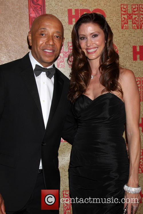 Russell Simmons and Shannon Elizabeth 1